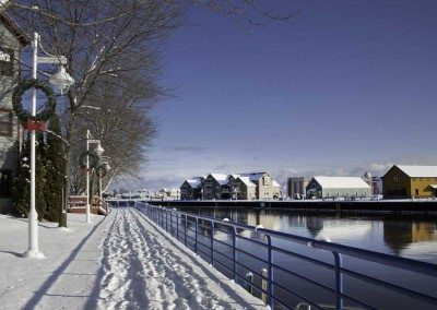 Winter on the Riverfront