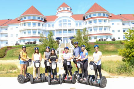 Making Headway on a Segway