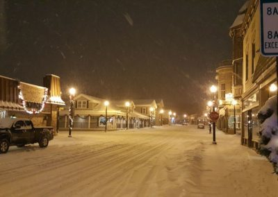 Amy Ashworth pix downtown SF in snow
